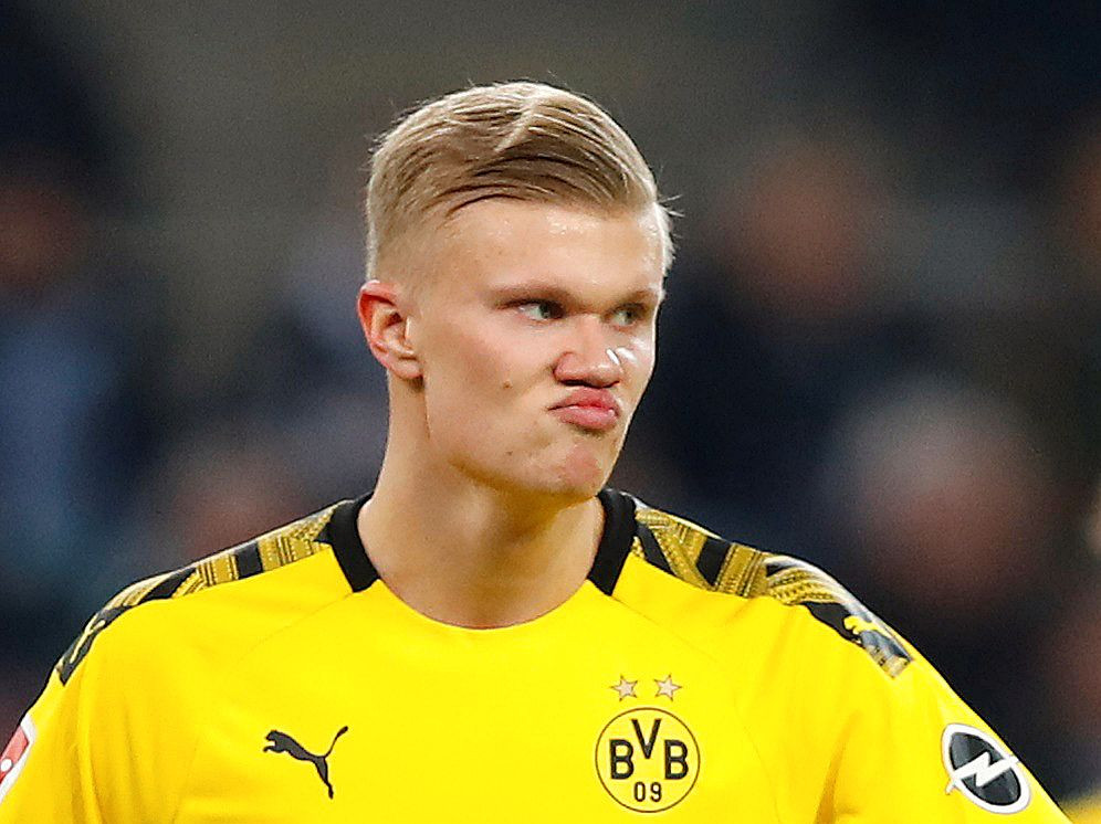 Halland Scores Twice as Dortmund Rout Freiburg in Front of Fans – Arise News