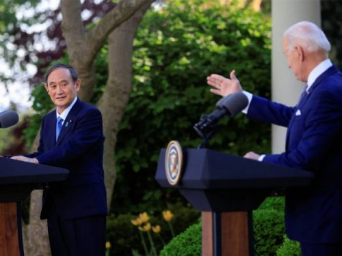 US and Japan Project Unity against China as Biden Hosts Suga as First Foreign Leader at the White House